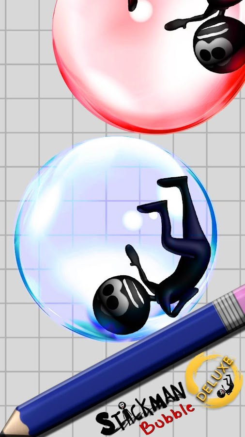 Stickman Bubble Deluxe- screenshot