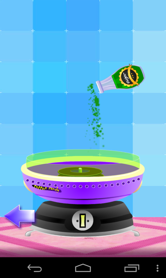Baby Cotton Candy Maker Game- screenshot