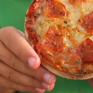 English Muffin Pizzas.