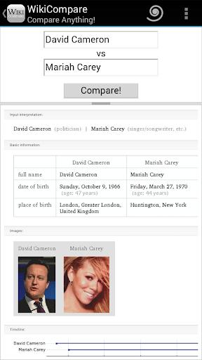 【免費生產應用App】Wiki Compare -Compare Anything-APP點子