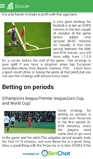 Betting tips and tricks