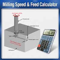 Screenshot of Milling Speed Feed Calculator