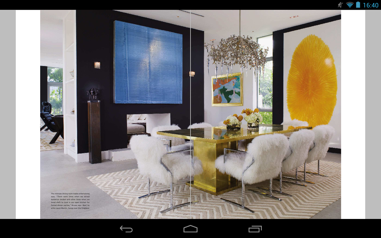 Miami Home Decor Magazine Screenshot