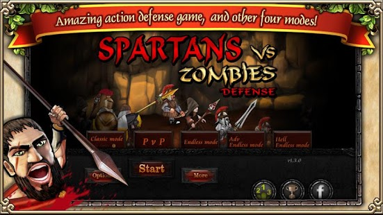 Spartans vs Zombies defense - screenshot thumbnail