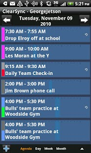 ClearSync Calendars & Contacts - screenshot thumbnail