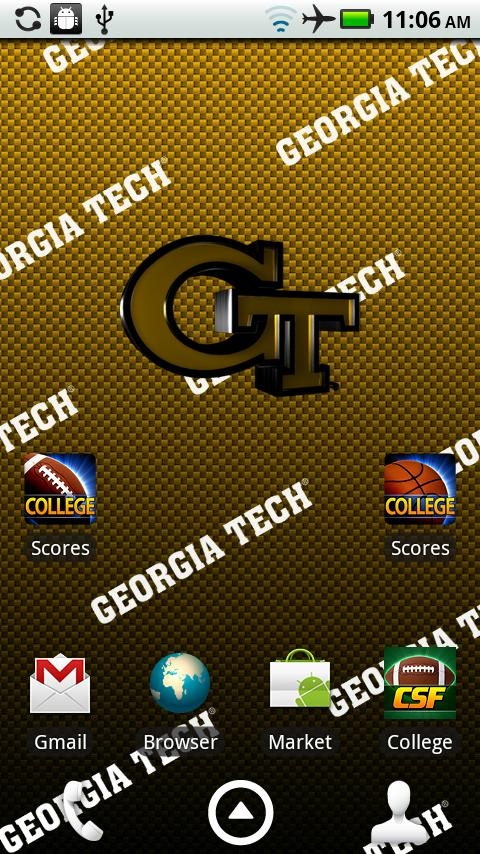 Georgia Tech Live Wallpaper HD- screenshot