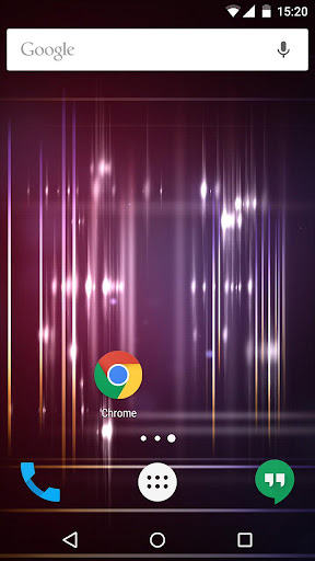 Purple Sparkle Live Wallpaper