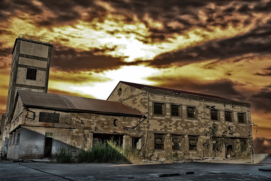 Abandoned building by Demetris Aipavlitis - Buildings & Architecture Decaying & Abandoned ( limassol, building, factory, cyprus, abandoned,  )
