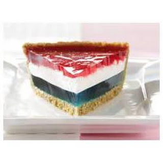 JELL-O® Easy Patriotic Pie.