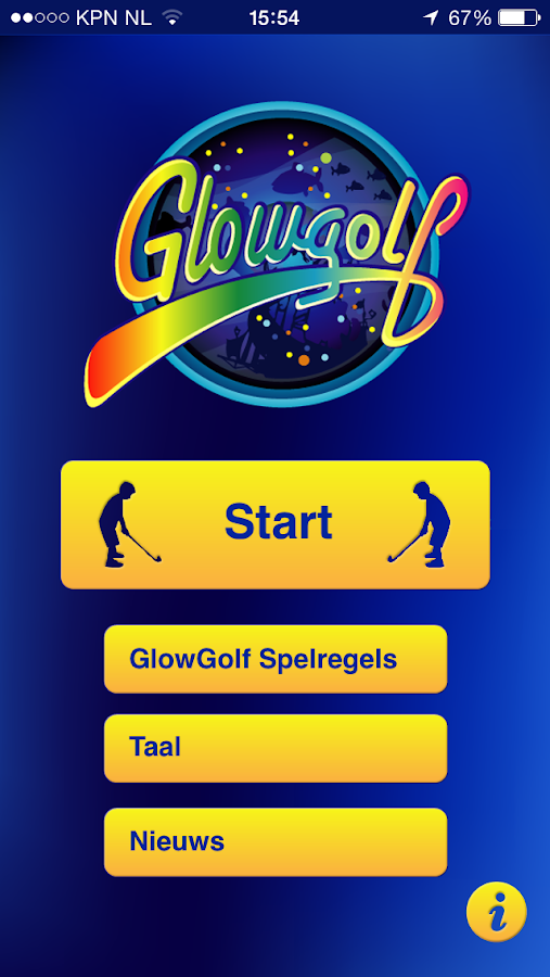 GlowGolf® Score+- screenshot