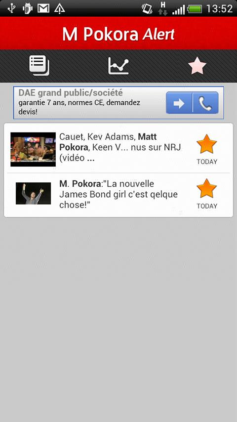 M Pokora Alert - screenshot