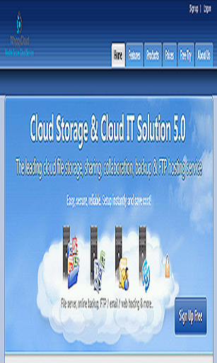 Whippy Cloud Storage Solution