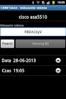 Screenshot of CERBToken