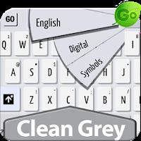 GO Keyboard Clean Grey 1.5