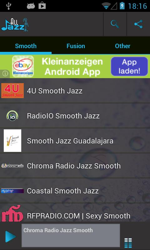 Jazz Radio - screenshot