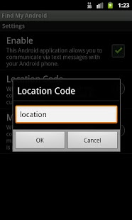 Find My Android - screenshot thumbnail