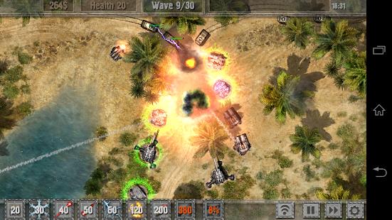 Defense Zone 2 HD Screenshot