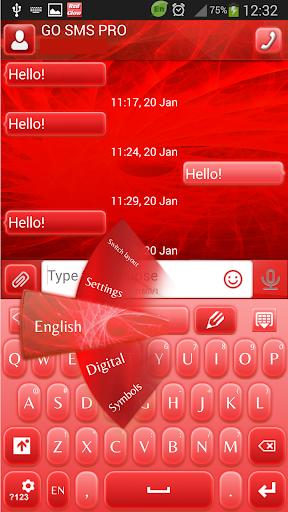 GO短信红光