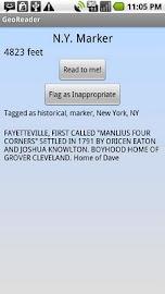 Georeader Screenshot 2