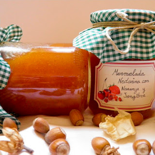 Nectarine Marmalade with Orange and Ginger.