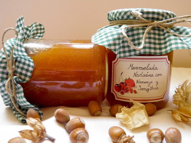 Nectarine Marmalade with Orange and Ginger Recipe