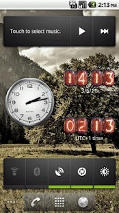 Nixie Clock Widget - screenshot thumbnail