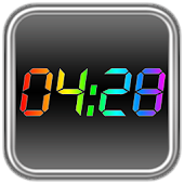Rainbow Clock Widget (NEO)