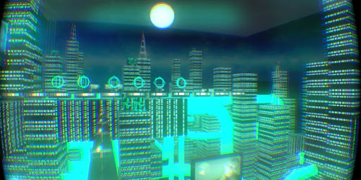 Cityscape for Google Cardboard