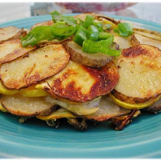 Herbed Summer Squash and Potato Torte Recipe
