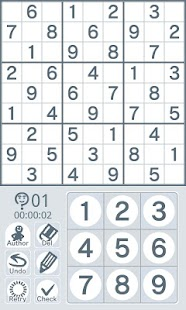 Sudoku by Nikoli Easy 05 - screenshot thumbnail