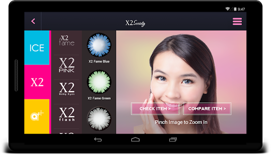 X2 Society: Find your softlens- screenshot thumbnail