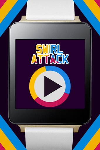 Swirl Attack - Android Wear