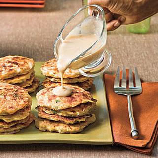 Chicken-and-Potato Pancakes.