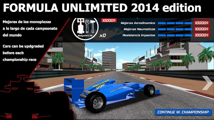 Formula Ilimitado 2014 - Screenshot