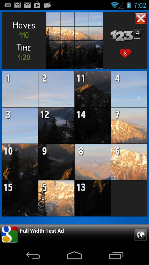 PicturePuzzle - screenshot