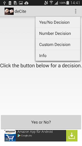 Decision Maker - deCite