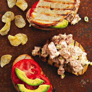 Grilled Tuna Sandwiches.