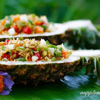Tropical Pineapple Rice.