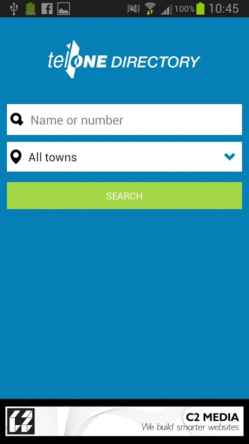 TelOne Directory- screenshot