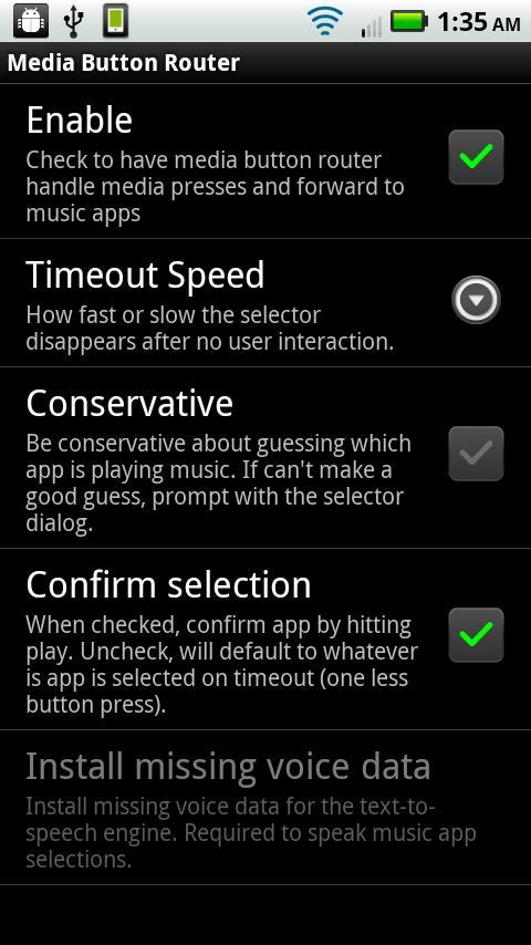 Media Button Router- screenshot
