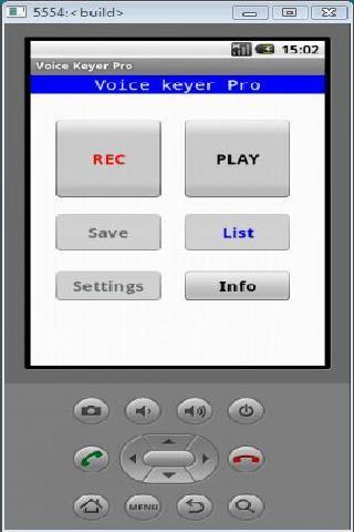 Voice Keyer Pro - screenshot