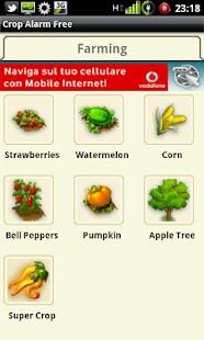 Crop Alarm Free - screenshot thumbnail