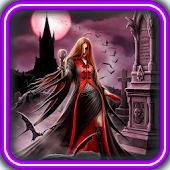 Vampires Tales live wallpaper