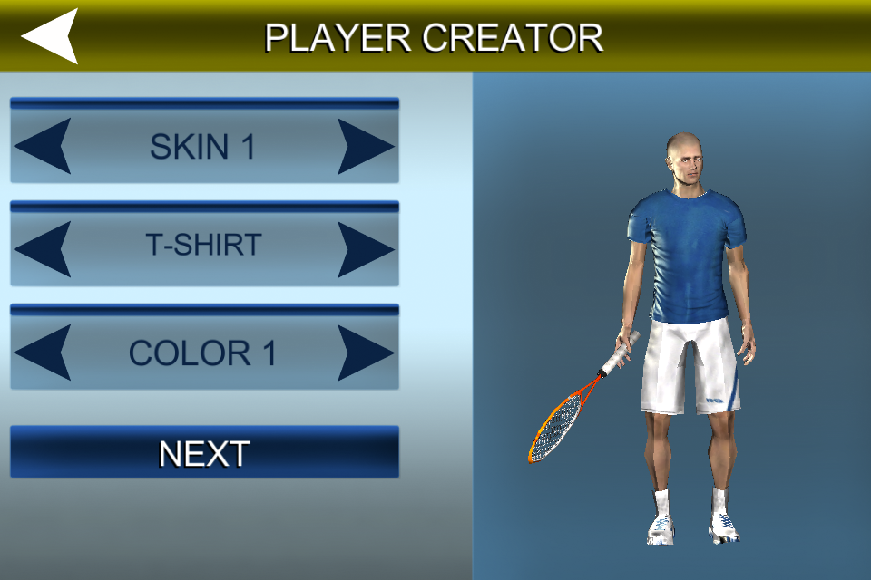 Cross Court Tennis 2 - screenshot