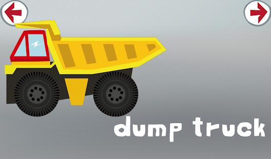 男生轎車與卡車拼圖應用程序