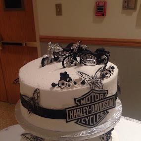 Harley Cake by Fullerton FireCo - Wedding Reception ( wedding cakes )