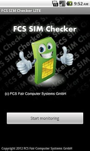 FCS SIM Checker LITE- screenshot thumbnail
