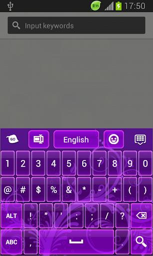 【免費個人化App】GO輸入法深紫-APP點子