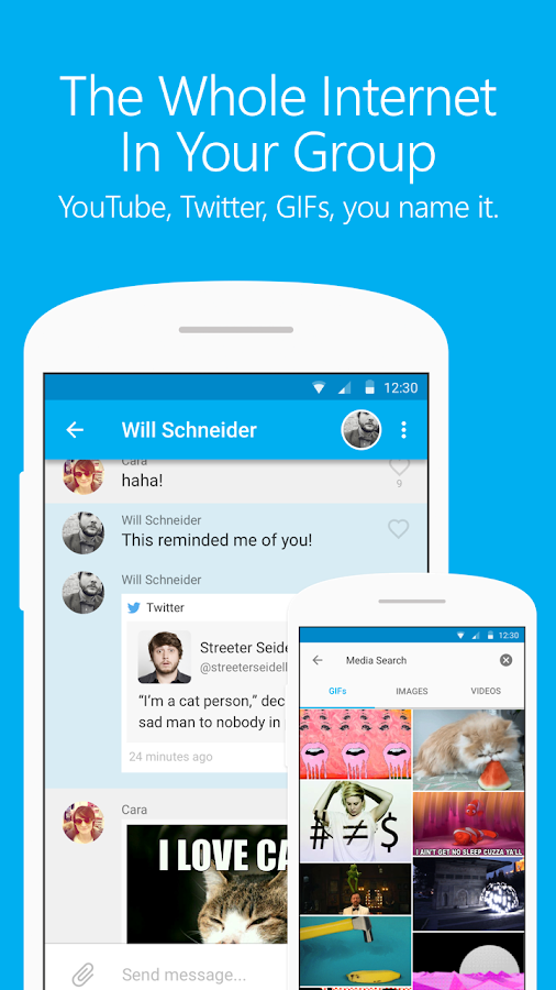 GroupMe- screenshot