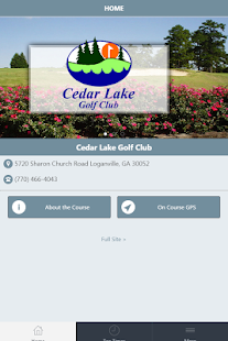 Cedar Lake Golf Club screenshot 2